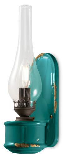 C146 - Aplică din ceramică cu finisaj retro
