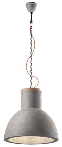 C1780 - Pendul retro gri sau alb din ceramică și lemn