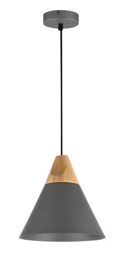 Bicones II - Pendul conic cu finisaj de lemn