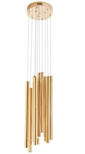 Organic 10 - Lustră cu 10 cilindrii luminoși