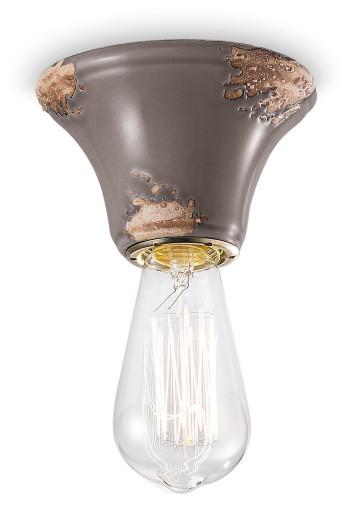 C133 - Plafonieră din ceramică cu finisaj retro