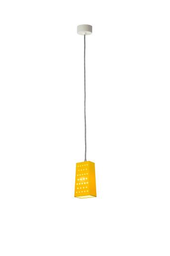 Cacio/Pepe S - Pendul galben în formă de răzătoare