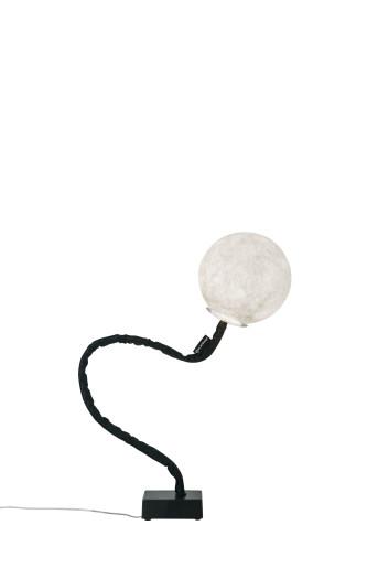 Micro Luna Piantana - Lampă de podea cu abajur în formă de lună