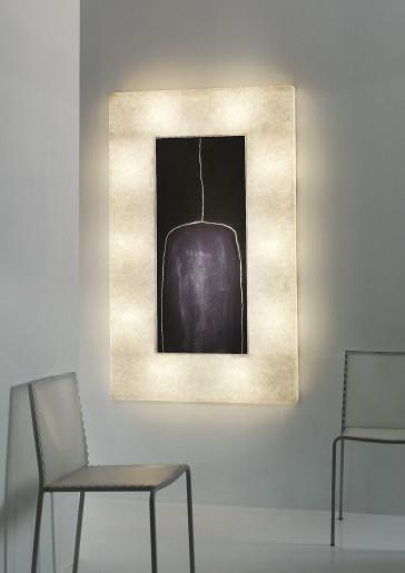 Lunar Bottle 2 - Aplică din nebulit cu 10 surse de lumină
