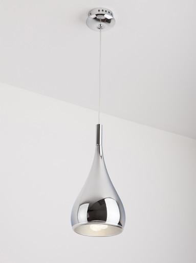 Vigo Crom - Pendul argintiu cu dublă textură