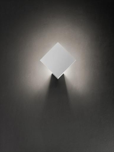 Puzzle Single Square 2700 K Albă - Plafonieră