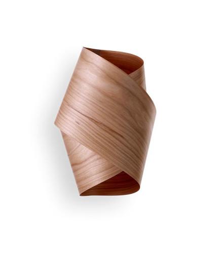 Orbit - Aplică din lemn de furnir răsucit