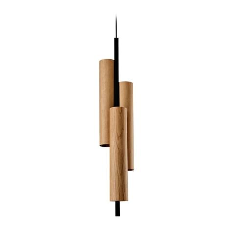 Black Note Triplet II Dali - Pendul cilindric cu 3 surse de lumină