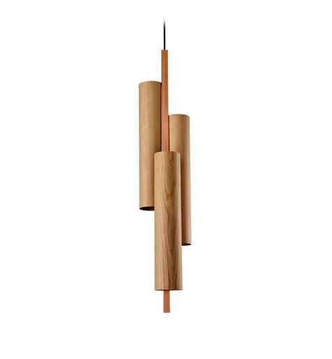 Black Note Triplet IV Dali - Pendul cilindric cu 3 surse de lumină