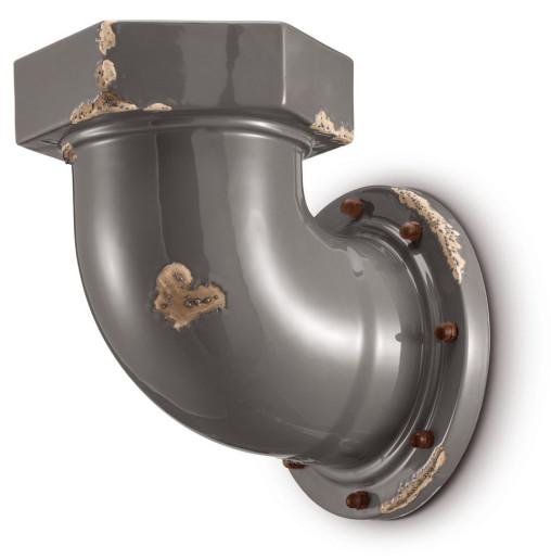 C1810 - Aplică din ceramică cu aspect retro de forma unei conducte