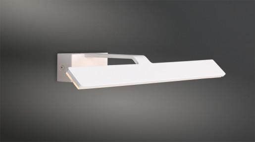 Blanco II - Aplică albă din metal slim