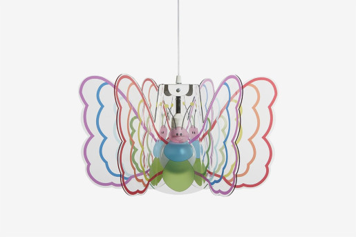 Butterfly Multicolor - Pendul