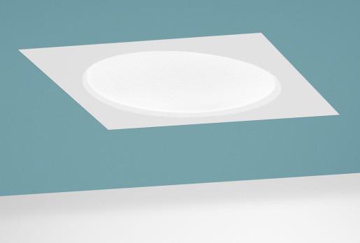 Halftone 32W LED Alb cald - Panou Încastrat