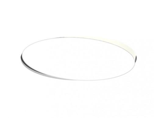 Alabama Alb 136 W DALI - Lampă încastrată rotundă ajustabilă din aluminiu pentru birouri