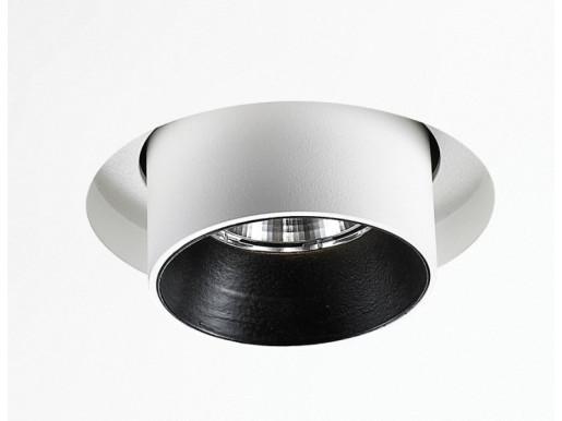 Martorell 10W LED DALI - Proiector încastrat cilindric ajustabil din aluminiu