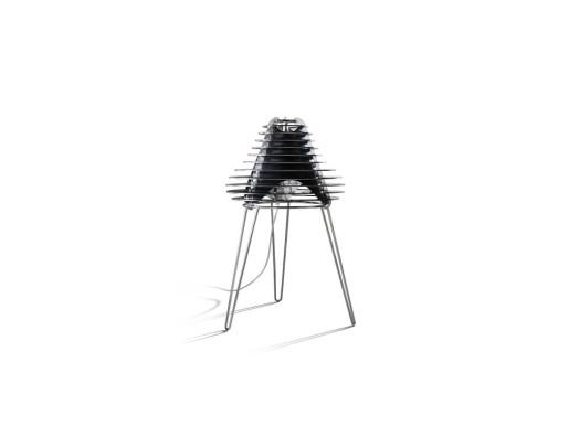 Faretto - Lampă de masă albă sau neagră cu forme speciale