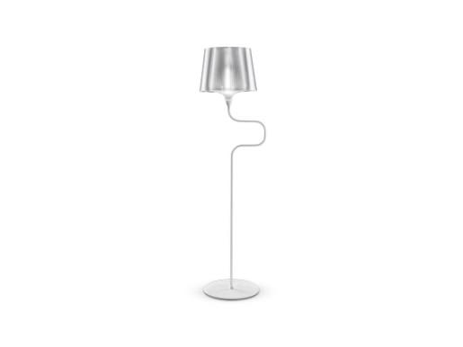 Liza Pewter - Lampă de podea albă