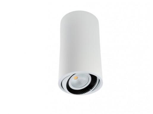 Luk Tube 350 9.3 W - Spot aplicat cilindric ajustabil din aluminiu