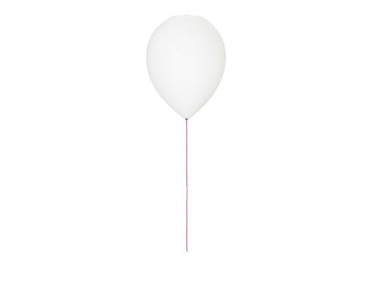 Balloon - Plafonieră albă de forma unui balon cu șnur