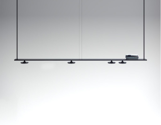 Button 4 - Lampă suspendată de birou cu 4 surse de lumină mobile