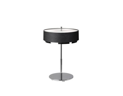 Iris M-2717 - Lampă de masă gri sau neagră cu finisaj cromat