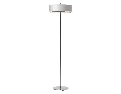 Iris M-2718 - Lampă de podea gri cu finisaj cromat