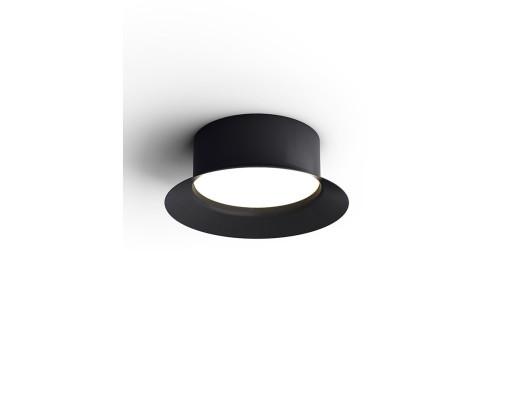 Maine - Plafonieră neagră de forma unei pălării