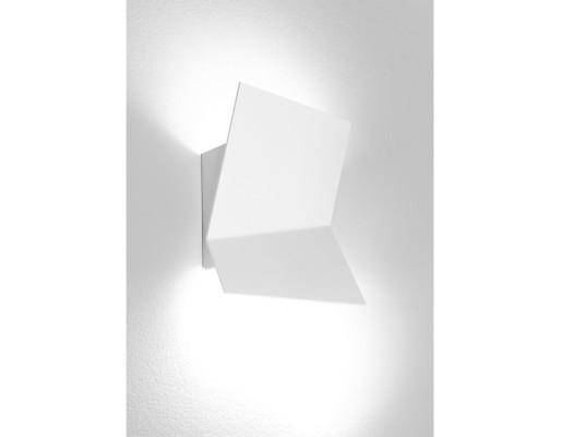 Piu - Aplică albă cu forme tridimensionale