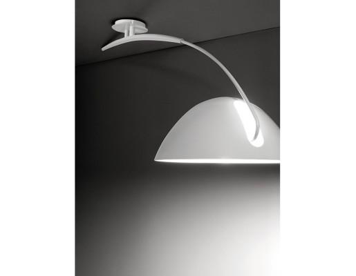 Pluma II - Lustră albă sau neagră extensibilă