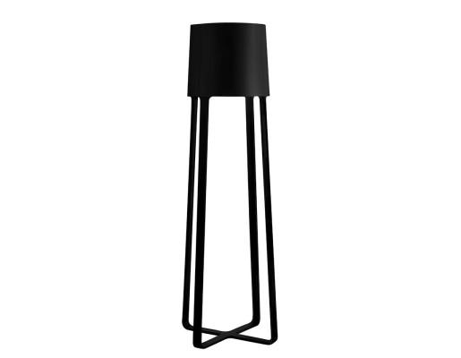 Poulpe - Lampă de podea neagră sau albă cu finisaj mat