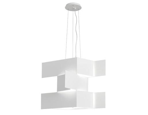 Shadow - Lustră cu forme tridimensionale din aluminiu