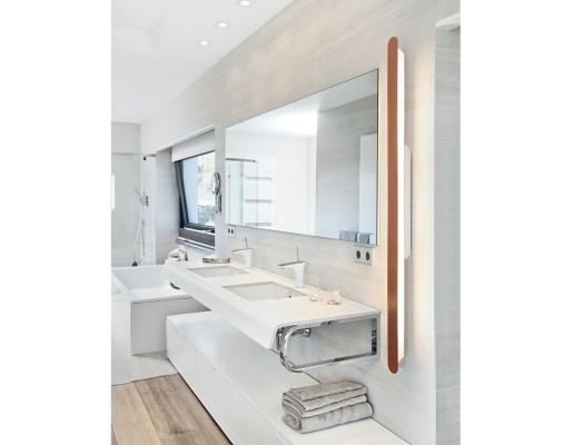 Smile M - Profil liniar aplicat cupruriu pentru baie