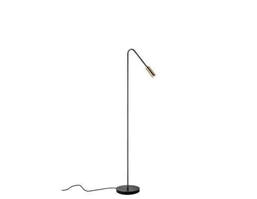 Volta 2700K - Lampă de podea albă sau neagră cu finisaj mat