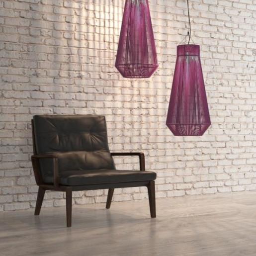 Koord - Pendul violet din material textil