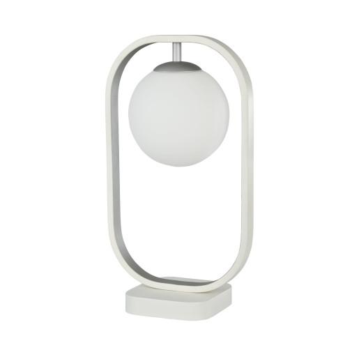 Avola - Lampă de masă rotundă cu cadru rectangular