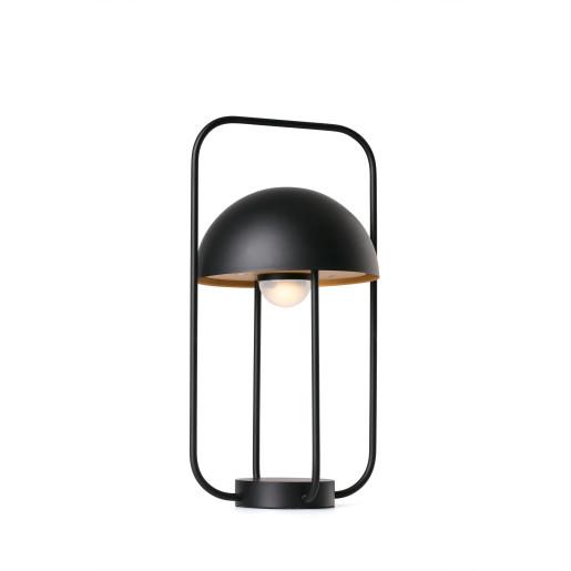 JELLYFISH 3W - Lampă de masă neagră în forma de meduză