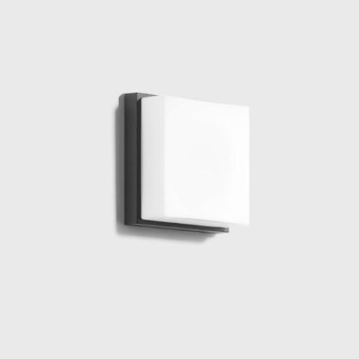 Bega 6W - Aplică de exterior LED din sticlă cu finisaj grafit