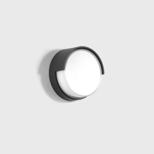 Bega 1.6W - Aplică de exterior LED din sticlă cu finisaj grafit
