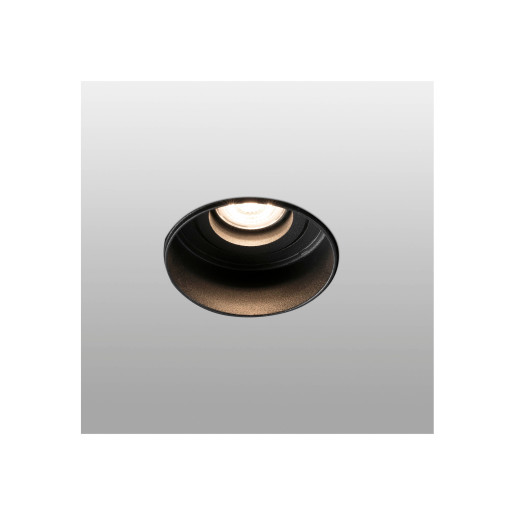 HYDE GU10 - Spot încastrat rotund negru
