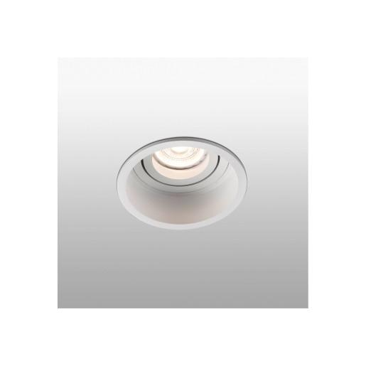 HYDE GU10 - Spot încastrat rotund alb