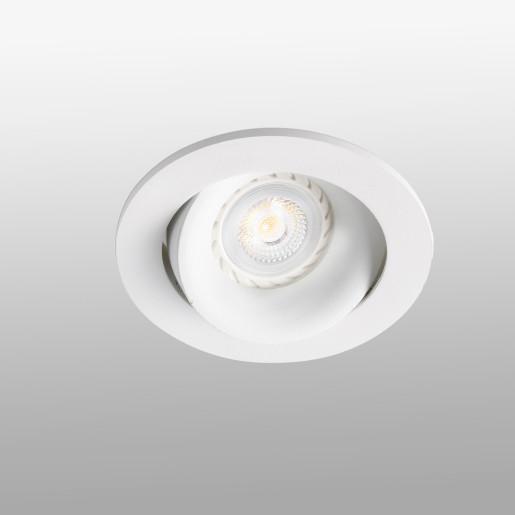 ARGON GU10/MR16/LED - Spot încastrat alb rotund din aluminiu