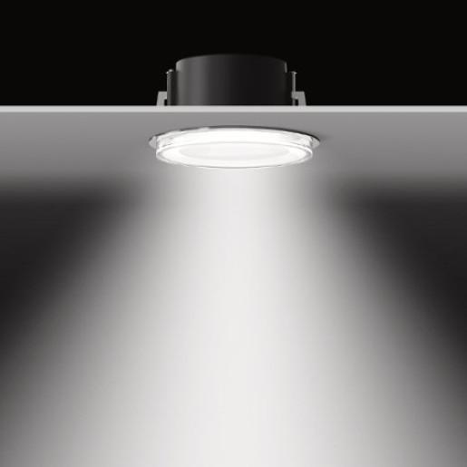 Bega - Spot încastrat LED din sticlă