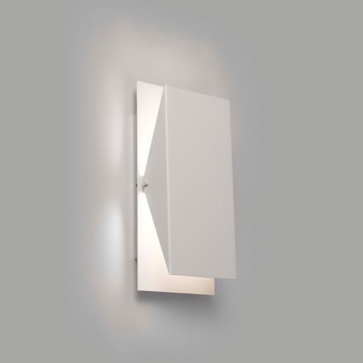 Homs - Aplică albă din metal minimalistă