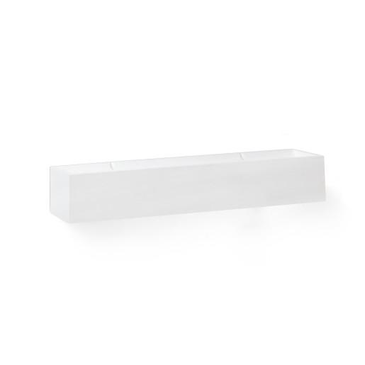 Tera - Aplică albă rectangulară
