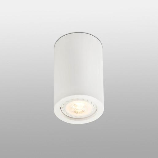 Sven - Downlight cilindric alb din ghips