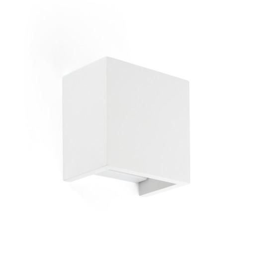 Oslo - Aplică albă rectangulară