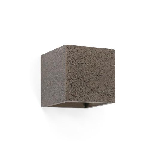 Kamen - Aplică de formă cubică din ciment