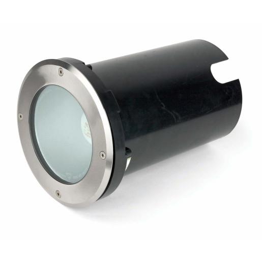 Corp de iluminat rotund Tecno-1  încastrat în paviment
