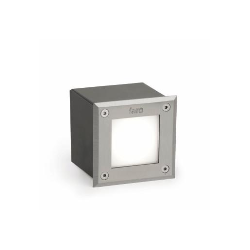 Corp de iluminat rectangular LED-18 3000 K încastrat în paviment