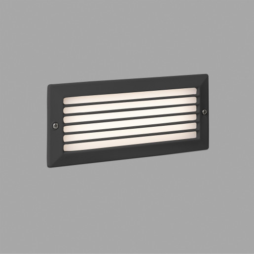 Stripe 5 W - Lampă încastrată în perete LED din aluminiu